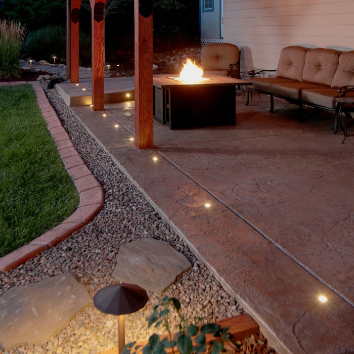 Led Paver Dot Lights Dekor Lighting