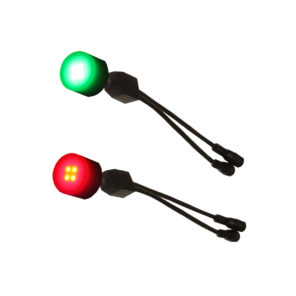 dock dots lights with port and starboard colors